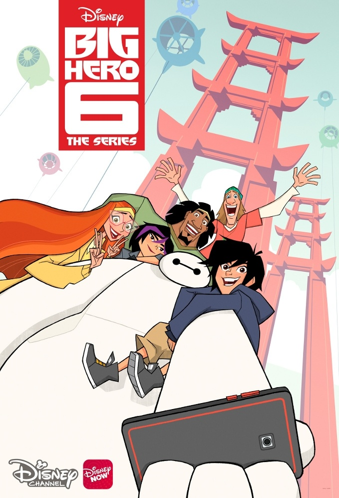 big hero six the series