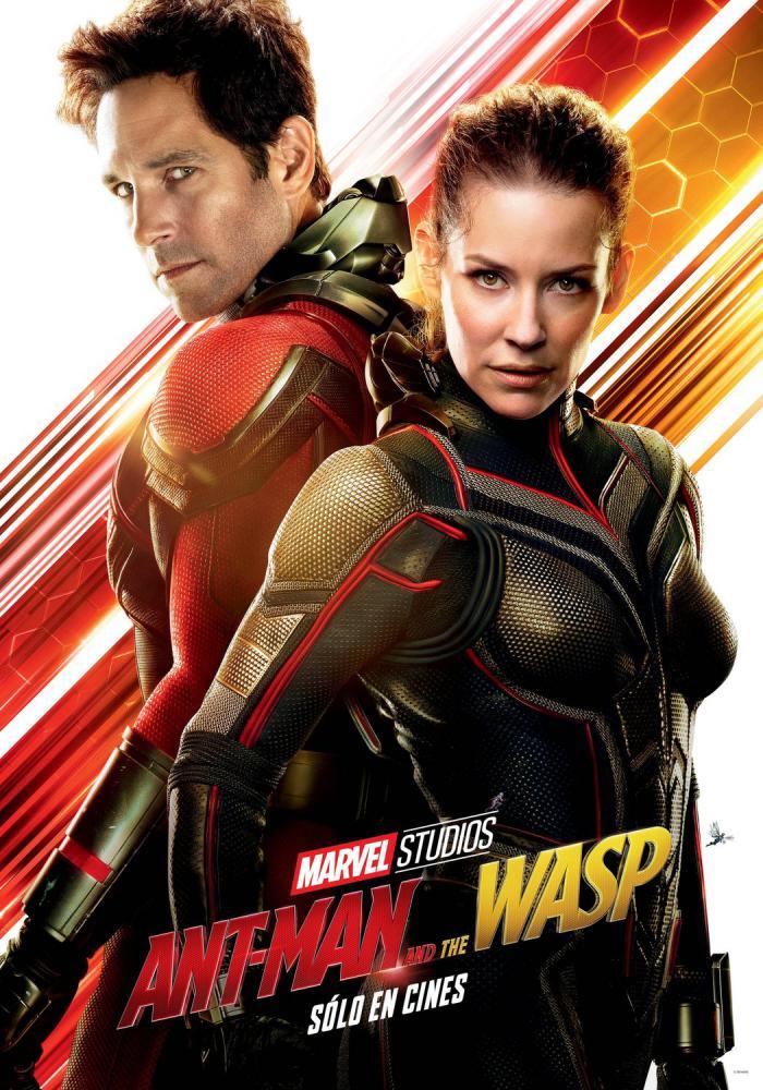 ant-man y la avispa poster español