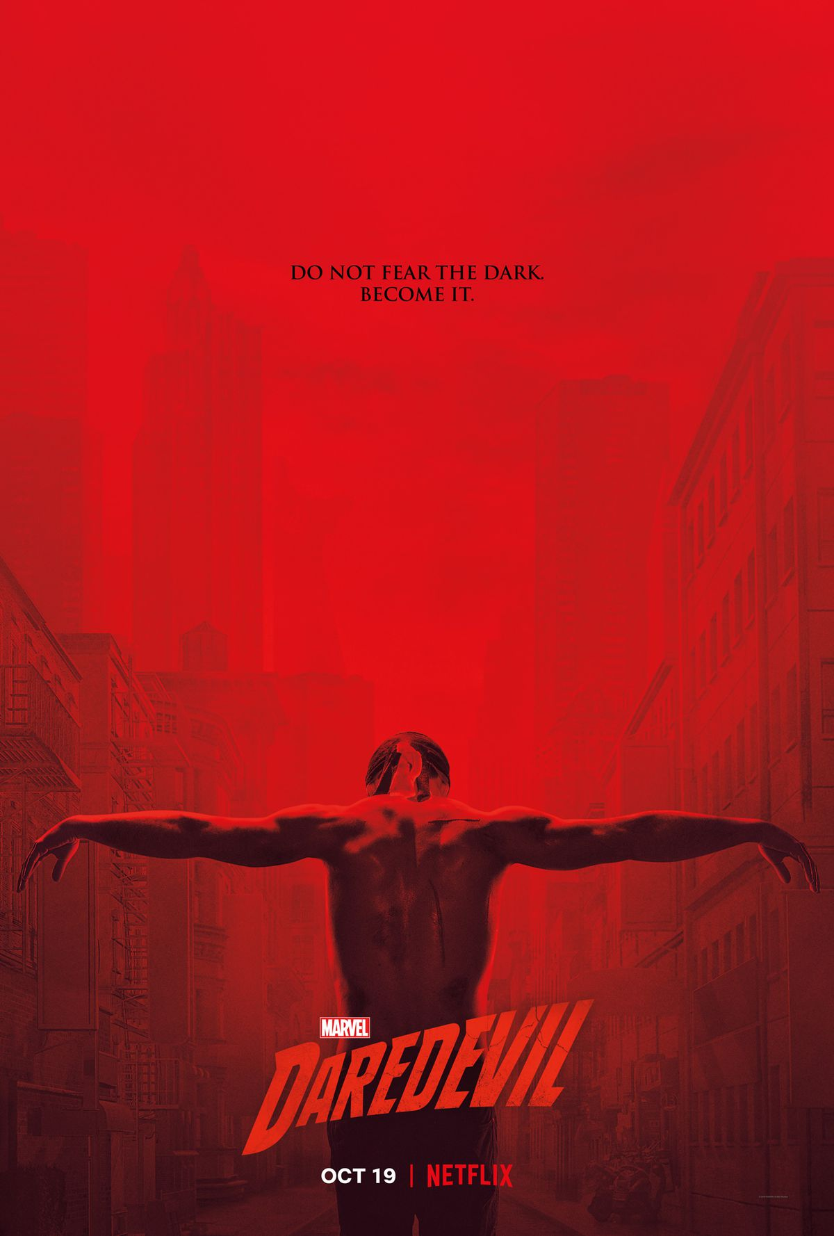 daredevil temporada 3 poster americano