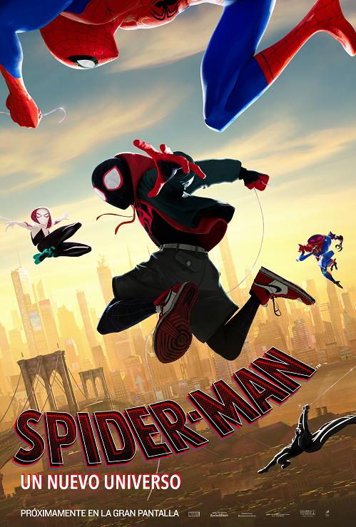 spiderman un nuevo universo