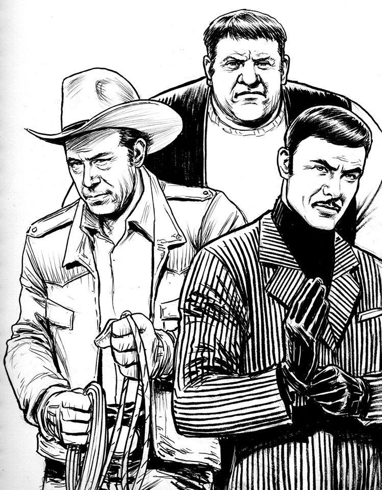 11 -What If Warren Oates was Montana, Alex Karras was Ox and John Saxon was Fancy Dan - The Enforcers!