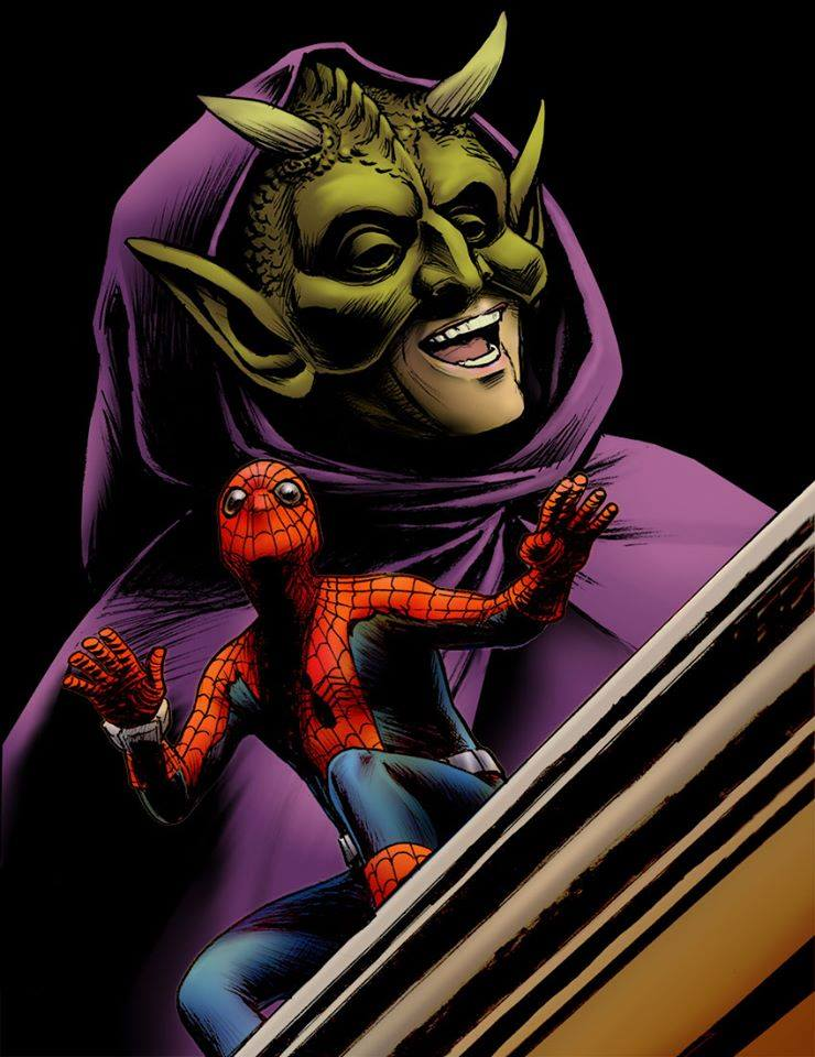 15 - What if the Green Goblin taunted Spider-man and he was played by Frank Gorshin